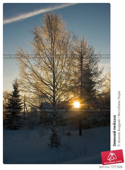 Зимний пейзаж, фото № 177926, снято 9 января 2008 г. (c) Шахов Андрей / Фотобанк Лори