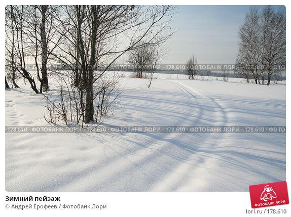 Зимний пейзаж, фото № 178610, снято 18 февраля 2006 г. (c) Андрей Ерофеев / Фотобанк Лори