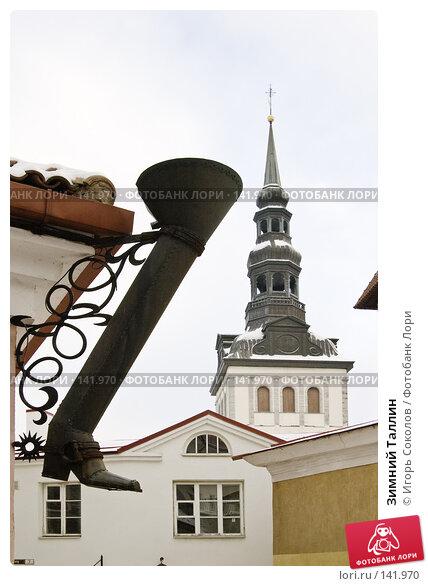 Зимний Таллин, фото № 141970, снято 24 января 2017 г. (c) Игорь Соколов / Фотобанк Лори