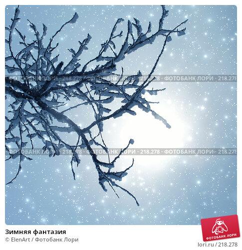Зимняя фантазия, фото № 218278, снято 23 января 2017 г. (c) ElenArt / Фотобанк Лори