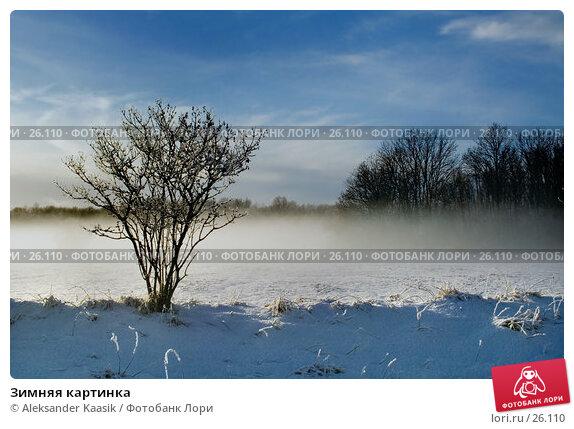 Зимняя картинка, фото № 26110, снято 29 мая 2017 г. (c) Aleksander Kaasik / Фотобанк Лори