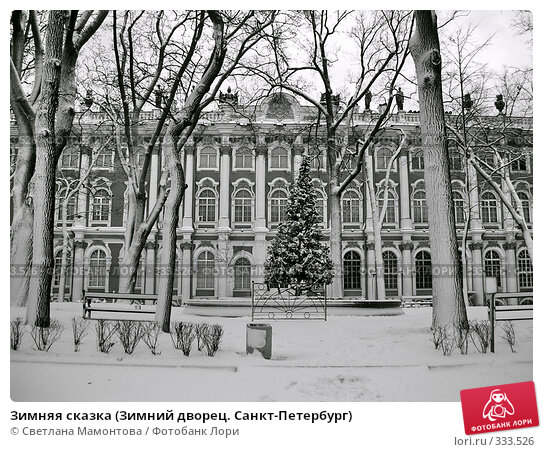 Зимняя сказка (Зимний дворец. Санкт-Петербург), фото № 333526, снято 28 января 2006 г. (c) Светлана Мамонтова / Фотобанк Лори