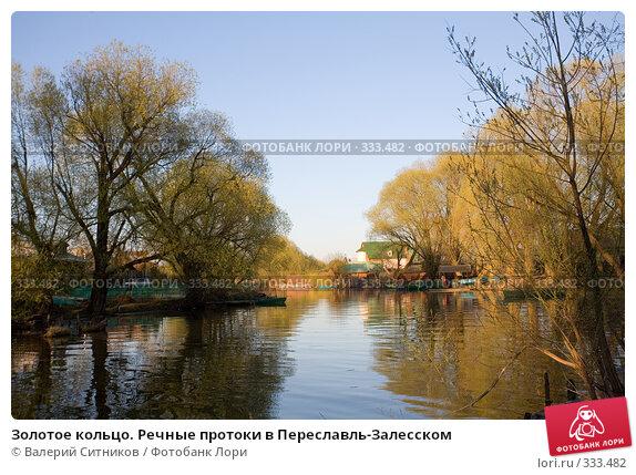 Золотое кольцо. Речные протоки в Переславль-Залесском, фото № 333482, снято 27 апреля 2008 г. (c) Валерий Ситников / Фотобанк Лори