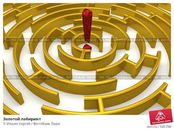 Купить «Золотой лабиринт», иллюстрация № 169790 (c) Ильин Сергей / Фотобанк Лори