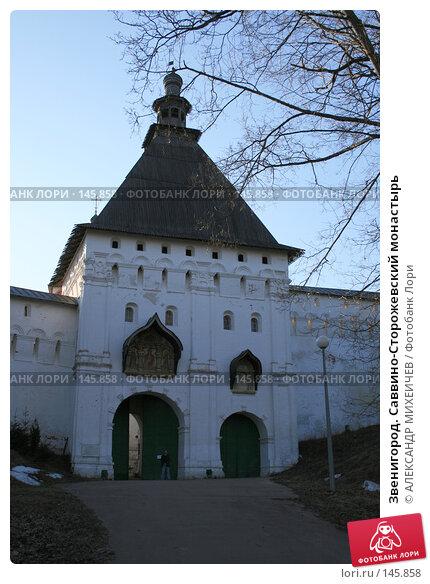 Звенигород. Саввино-Сторожевский монастырь, фото № 145858, снято 24 марта 2007 г. (c) АЛЕКСАНДР МИХЕИЧЕВ / Фотобанк Лори
