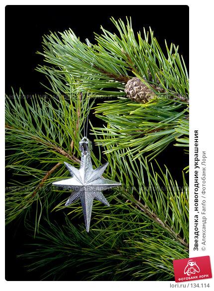 Звездочка ,новогодние украшения, фото № 134114, снято 21 января 2017 г. (c) Александр Fanfo / Фотобанк Лори